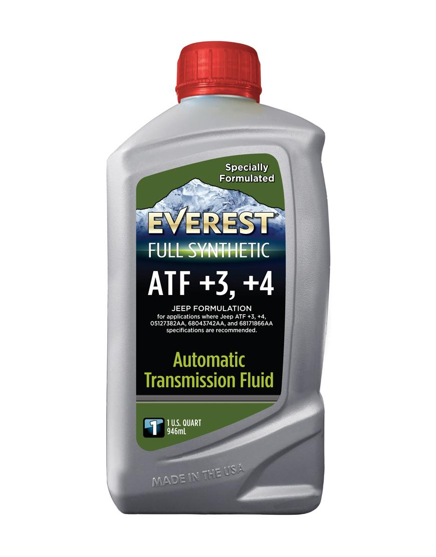 Everest Full Synthetic ATF +3, +4 Jeep Formulation