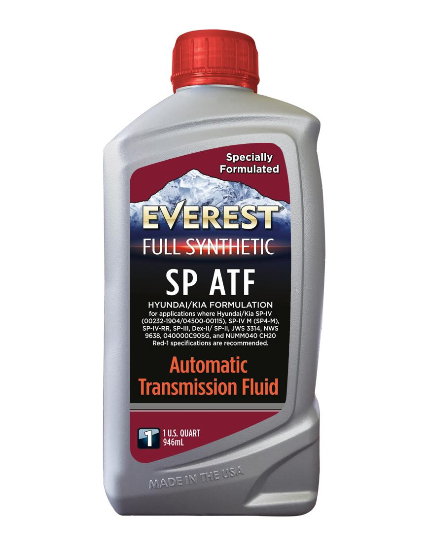 Everest Full Synthetic SP ATF Hyundai/KIA Formulation